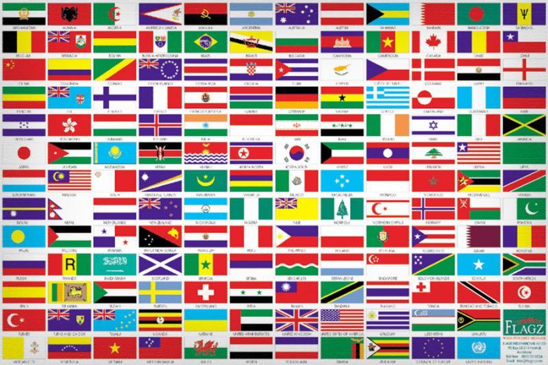 Bandiere nel Mondo Il nostro assortimento &